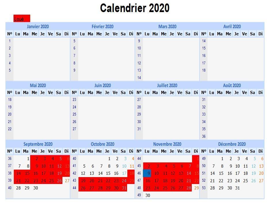 Calendrier 2020 v13